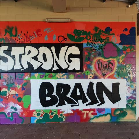Strong Brain art work