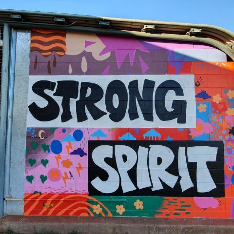 Strong Spirit art work