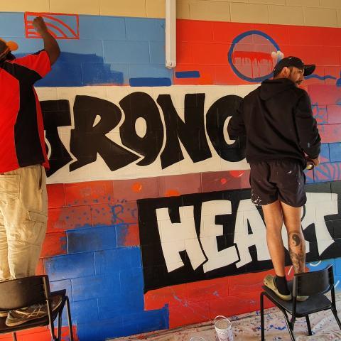 Strong Heart art work