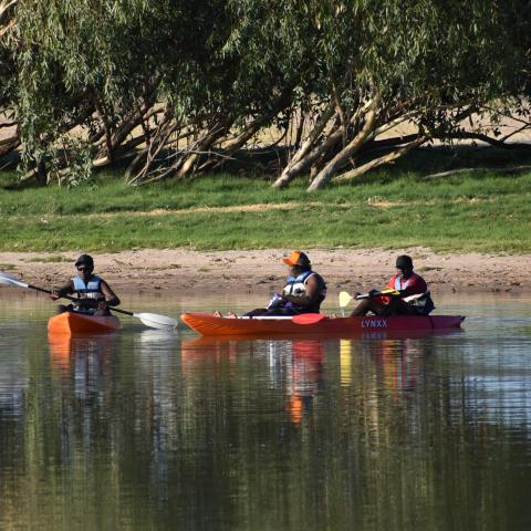 Lake Mary Ann kayaking