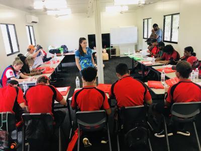 Classroom at Juno