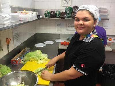 Georgia-Rae Horwood Certificate II Kitchen Operations